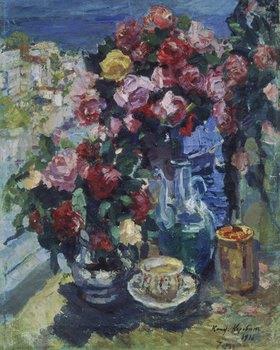 Alexejew. Konstantin Korovin: Rosen und verschiedene Gefässe (Gursup)