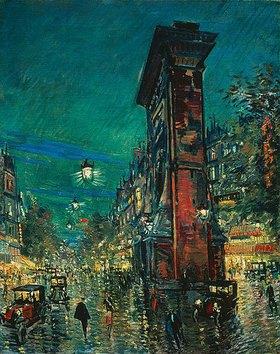 Alexejew. Konstantin Korovin: Paris, Arc St. Denis. 1930er Jahre