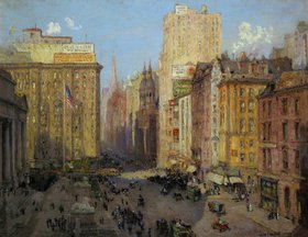 Colin Campbell Cooper: Fifth Avenue, New York