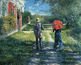 Gustave Caillebotte: Ansteigender Weg