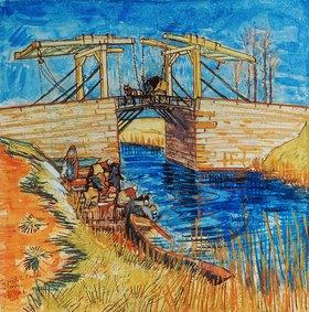 Vincent van Gogh: Die Brücke von Langlois in Arles. Arles