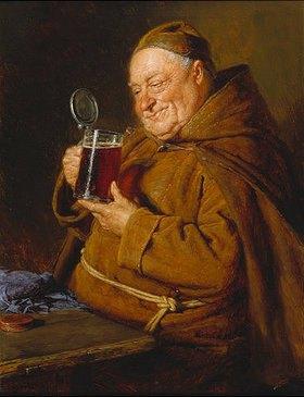 Eduard Grützner: Bierprobe
