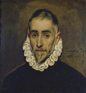 Greco El (Dominikos Theotokopoulos): Portrait eines Edelmannes