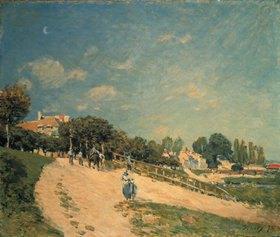 Alfred Sisley: Landschaft bei Andresy