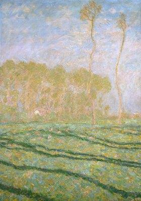 Claude Monet: Frühlingslandschaft bei Giverny