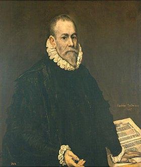Greco El (Dominikos Theotokopoulos): Bildnis des Arztes Rodrigo de la Fuente