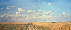 Camille Pissarro: Sommer (Kornfelder, aus: Die vier Jahreszeiten)