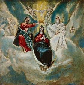Greco El (Dominikos Theotokopoulos): Krönung Mariae