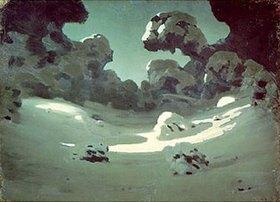 Arkhip Kuinji: Mondlicht über tief verschneiten Ästen