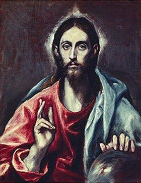 Greco El (Dominikos Theotokopoulos): Der Erlöser der Welt
