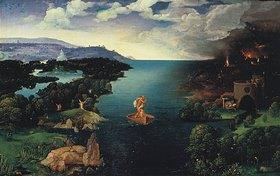 Joachim Patinir: Charon überquert den Styx, den Fluss zum Hades