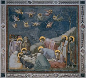 Giotto di Bondone: Die Beweinung Christi