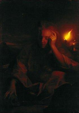 Godfried Schalcken: Die büßende hl. Magdalena
