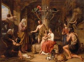 Charles Landseer: Die Rückkehr der Taube zur Arche Noah
