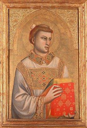 Giotto di Bondone: Der Hl. Stephan