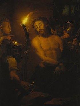 Godfried Schalcken: Die Verspottung Christi
