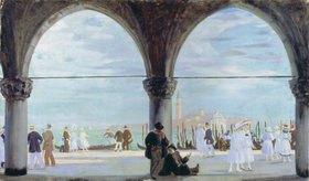 Boris Michailowitsch Kustodiev: Erinnerung an Venedig