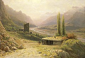 Leo Lagorio: Kaukasischer Canyon
