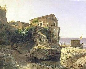 Leo Lagorio: Haus eines Fischers auf der Insel Capri