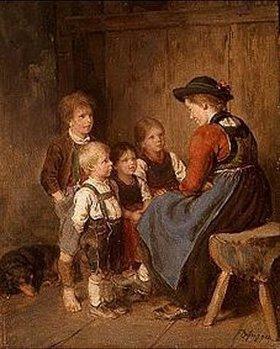 Franz von Defregger: Die Geschichte vom hl.Nikolaus