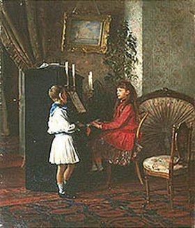 Kirill Lemoch: Kinder am Piano