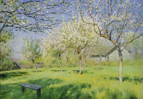 Isaak Iljitsch Lewitan: Apfelbäume in Blüte