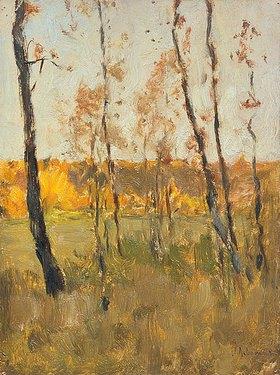 Isaak Iljitsch Lewitan: Herbstbäume