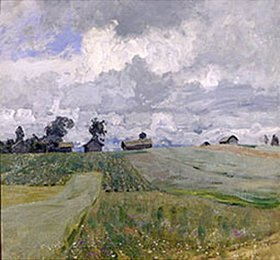 Isaak Iljitsch Lewitan: Stürmischer Tag mit grossen Wolken