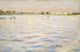 Isaak Iljitsch Lewitan: Letzte Sonnenstrahlen über dem See