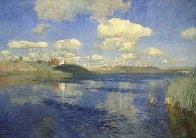 Isaak Iljitsch Lewitan: Sommerwolken über dem See