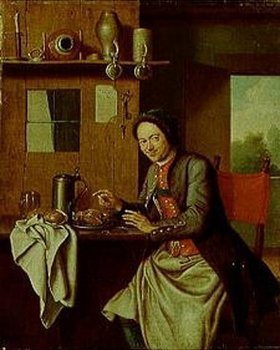 Peter Jakob Horemans: Wirt bei der Brotzeit