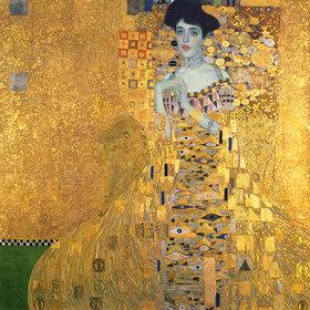 Gustav Klimt: Bildnis der Adele Bloch-Bauer I., 1907