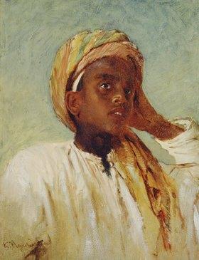 Konstantin Jegor Makovskij: Ein arabischer Junge