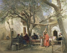 Konstantin Jegor Makovskij: Derwische in Kairo