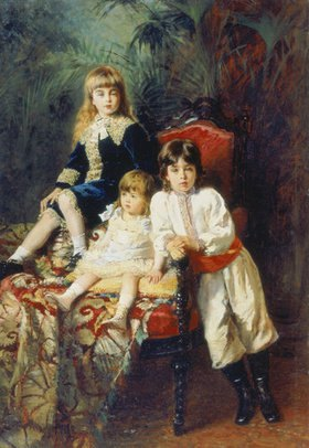 Konstantin Jegor Makovskij: Die drei Kinder des Herrn Balaschow