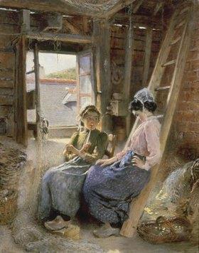 Konstantin Jegor Makovskij: Zwei bretonische Frauen