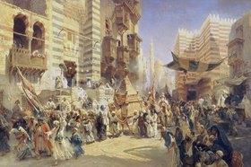 Konstantin Jegor Makovskij: Überführung des Heiligen Teppichs von Mekka nach Kairo
