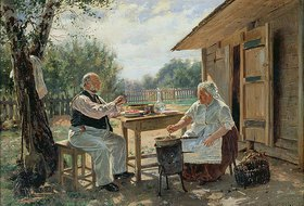 Wladimir J Makovskij: Beim Einkochen der Marmelade