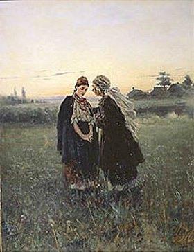 Wladimir J Makovskij: Mutter und Tochter