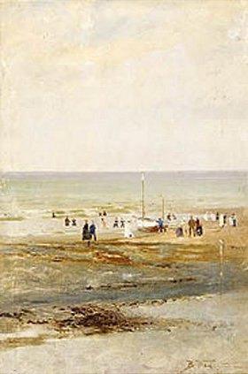 Wladimir J Makovskij: Am Strand