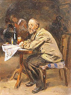 Wladimir J Makovskij: Der Trinker