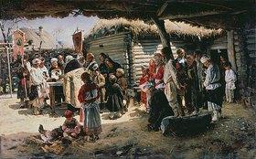 Wladimir J Makovskij: Die Osterpredigt im Freien