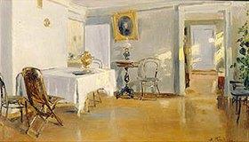 Wladimir J Makovskij: Interieur. 1890-er Jahre