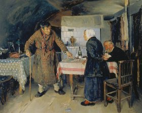 Wladimir J Makovskij: Streit beim Kartenspiel