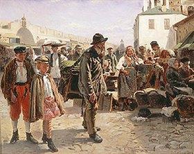 Wladimir J Makovskij: Der Leierkastenmann
