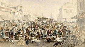 Wladimir J Makovskij: Gebrauchtwaren-Markt in Moskau