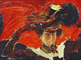 Philipp Maljawin: Bildnis der Mara K. Oliv (1820-1911)