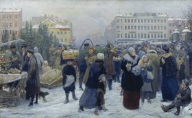 Genrich Matvejewitsch Maniser: Weihnachtsmarkt