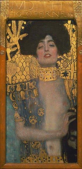 Gustav Klimt: Judith mit dem Haupt des Holofernes