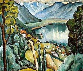 Ilja Iwanowitsch Maschkoff: Genfer See